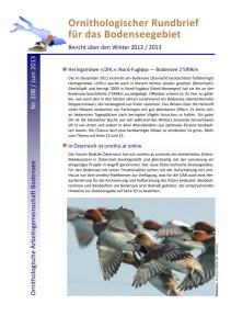 Titelseite OR 208 Winter 2012-2013